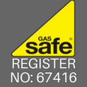 Gas safe regsitered logo and number for MPS heating