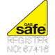 Gas safe logo for MPS Heating